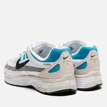 Мужские кроссовки Nike P-6000 White/Black/Laser Blue/Light Smoke Grey фото- 2
