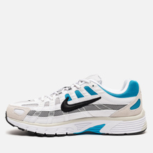 Мужские кроссовки Nike P-6000 White/Black/Laser Blue/Light Smoke Grey фото- 5