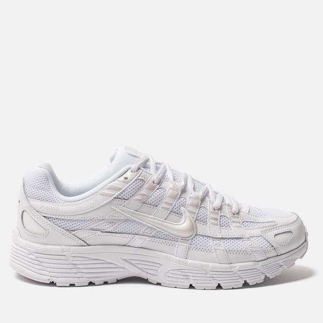 Мужские кроссовки Nike P-6000 White/White/Platinum Tint