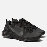 Кроссовки Nike React Element 55 Black/Dark Grey фото- 2