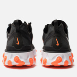 Мужские кроссовки Nike React Element 55 Black/Wolf Grey/Total Orange/White фото- 3