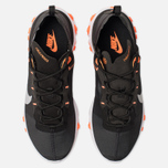 Мужские кроссовки Nike React Element 55 Black/Wolf Grey/Total Orange/White фото- 5