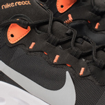Мужские кроссовки Nike React Element 55 Black/Wolf Grey/Total Orange/White фото- 6