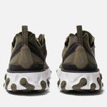 Мужские кроссовки Nike React Element 55 Medium Olive/Cool Grey/Black фото- 3