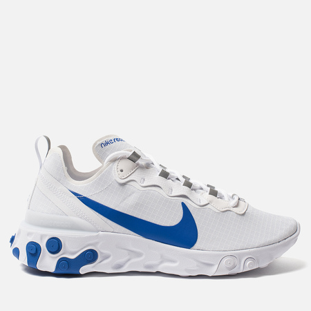 Мужские кроссовки Nike React Element 55 SE SU19 White/Game Royal