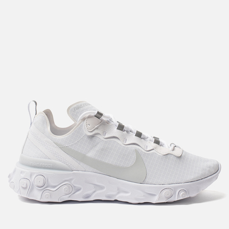 Мужские кроссовки Nike React Element 55 SE SU19 White/Pure Platinum