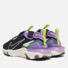 Мужские кроссовки Nike React Vision Black/Sail/Dark Smoke Grey/Gravity Purple фото- 2