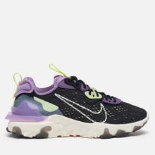 Мужские кроссовки Nike React Vision Black/Sail/Dark Smoke Grey/Gravity Purple фото- 3
