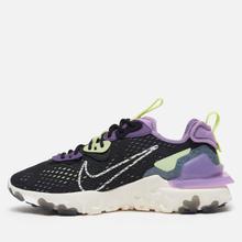 Мужские кроссовки Nike React Vision Black/Sail/Dark Smoke Grey/Gravity Purple фото- 5