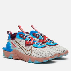 Мужские кроссовки Nike React Vision Light Bone/Terra Blush/Photo Blue