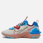 Мужские кроссовки Nike React Vision Light Bone/Terra Blush/Photo Blue фото - 5