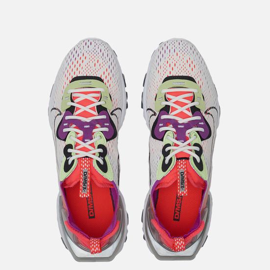 Мужские кроссовки Nike React Vision Summit White/Black/Barely Volt
