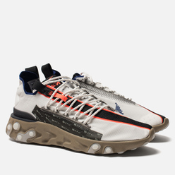 Мужские кроссовки Nike React WR ISPA Summit White/Deep Royal Blue/Khaki/Black