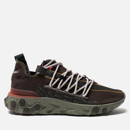 Мужские кроссовки Nike React WR ISPA Velvet Brown/Terra Orange/Dark Stucco