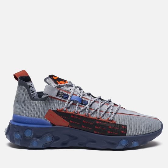 Мужские кроссовки Nike React WR ISPA Wolf Grey/Sapphire/Dusty Peach