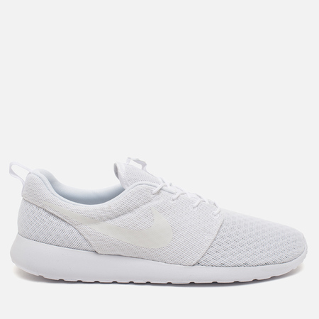 Мужские кроссовки Nike Roshe One Breathe White/White