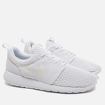 Мужские кроссовки Nike Roshe One Breathe White/White фото- 1
