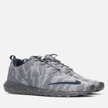 Мужские кроссовки Nike Roshe NM FB Flat Silver/Obsidian/Dark Grey фото- 1