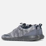 Мужские кроссовки Nike Roshe NM FB Flat Silver/Obsidian/Dark Grey фото- 2