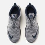 Мужские кроссовки Nike Roshe NM FB Flat Silver/Obsidian/Dark Grey фото- 4