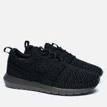 Мужские кроссовки Nike Roshe NM Flyknit Black/Midnight Fog фото- 2