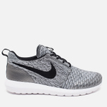 Мужские кроссовки Nike Roshe NM Flyknit SE Wolf Grey/Black/White фото- 0