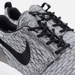 Мужские кроссовки Nike Roshe NM Flyknit SE Wolf Grey/Black/White фото- 5