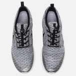 Мужские кроссовки Nike Roshe NM Flyknit SE Wolf Grey/Black/White фото- 4