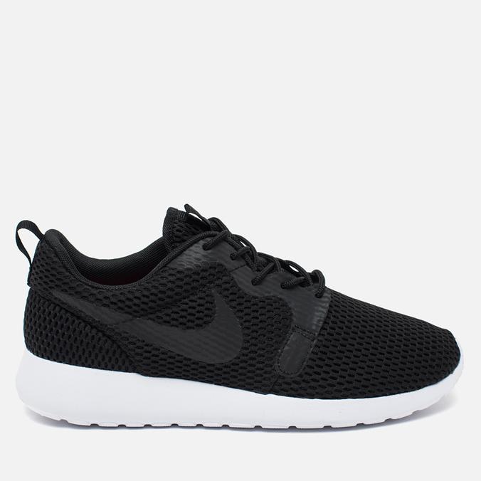 Мужские кроссовки Nike Roshe One Hyper BR Black/White/Black