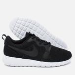 Мужские кроссовки Nike Roshe One Hyper BR Black/White/Black фото- 2