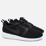 Мужские кроссовки Nike Roshe One Hyper BR Black/White/Black фото- 1