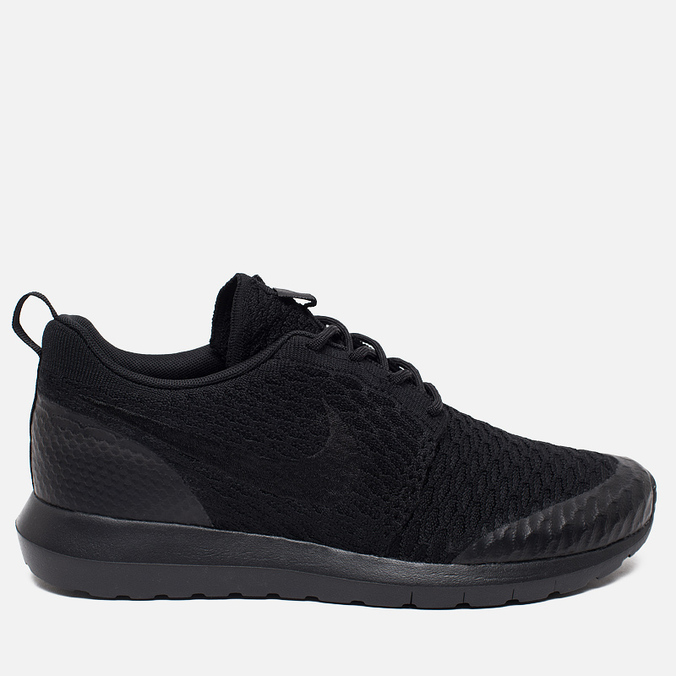 Мужские кроссовки Nike Roshe One NM Flyknit SE Black/Black