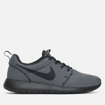 Мужские кроссовки Nike Roshe One Premium Black/Black/White фото- 0