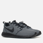 Мужские кроссовки Nike Roshe One Premium Black/Black/White фото- 1
