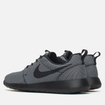 Мужские кроссовки Nike Roshe One Premium Black/Black/White фото- 2