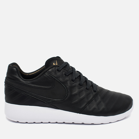 Nike Roshe Tiempo VI QS Men's Sneakers Black/Metallic Gold/White