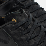 Nike Roshe Tiempo VI QS Men's Sneakers Black/Metallic Gold/White photo- 5
