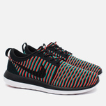 Мужские кроссовки Nike Roshe Two Flyknit Black/Bright Crimson/Clear Jade фото- 2