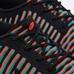 Мужские кроссовки Nike Roshe Two Flyknit Black/Bright Crimson/Clear Jade фото- 3