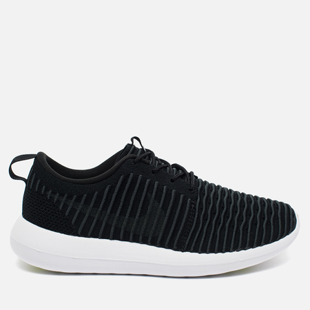 Nike Roshe Two Flyknit Men's Sneakers Black/White