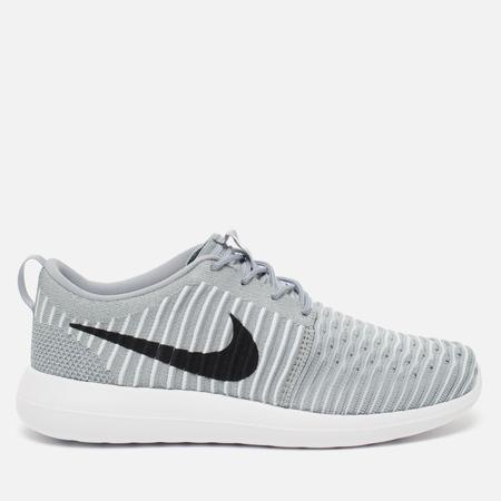 Мужские кроссовки Nike Roshe Two Flyknit Grey
