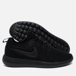 Мужские кроссовки Nike Roshe Two Triple Black фото- 1