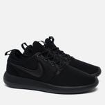 Мужские кроссовки Nike Roshe Two Triple Black фото- 2