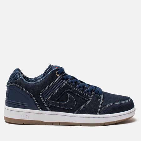Мужские кроссовки Nike SB Air Force II Low QS East West Pack Binary Blue/Binary Blue/White