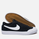 Мужские кроссовки Nike SB Air Zoom Blazer Low XT Black/Gum Light Brown/White/White фото- 1