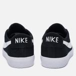 Мужские кроссовки Nike SB Air Zoom Blazer Low XT Black/Gum Light Brown/White/White фото- 3