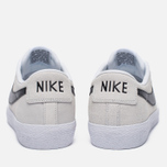 Мужские кроссовки Nike SB Air Zoom Blazer Low XT Summit White/White/Gum Light Brown/Black фото- 3
