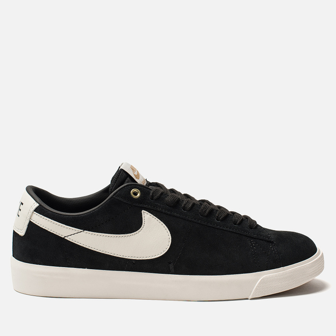Мужские кроссовки Nike SB Blazer Low GT Black Sail/White