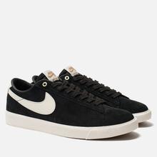 Мужские кроссовки Nike SB Blazer Low GT Black Sail/White фото- 0