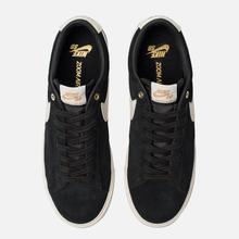 Мужские кроссовки Nike SB Blazer Low GT Black Sail/White фото- 1